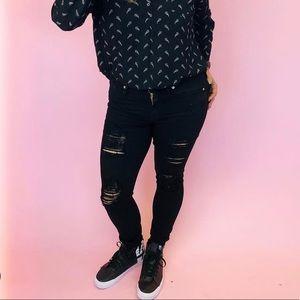Good American Black Jeans (BLACK002)
